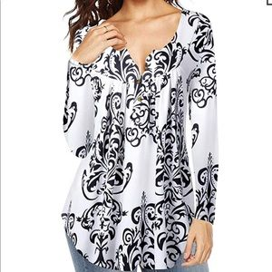 V-Neck long sleeve for women